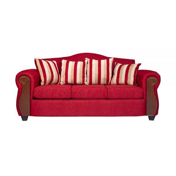 Living Monaco Sofa 3 Cuerpos 2 Poltronas Rojo 2