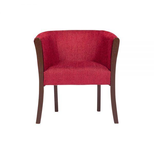 Living Monaco Sofa 3 Cuerpos 2 Poltronas Rojo 4
