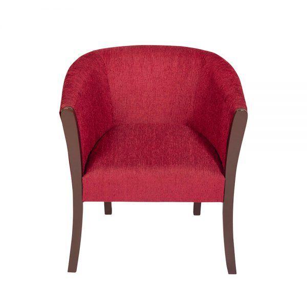 Living Monaco Sofa 3 Cuerpos 2 Poltronas Rojo 5