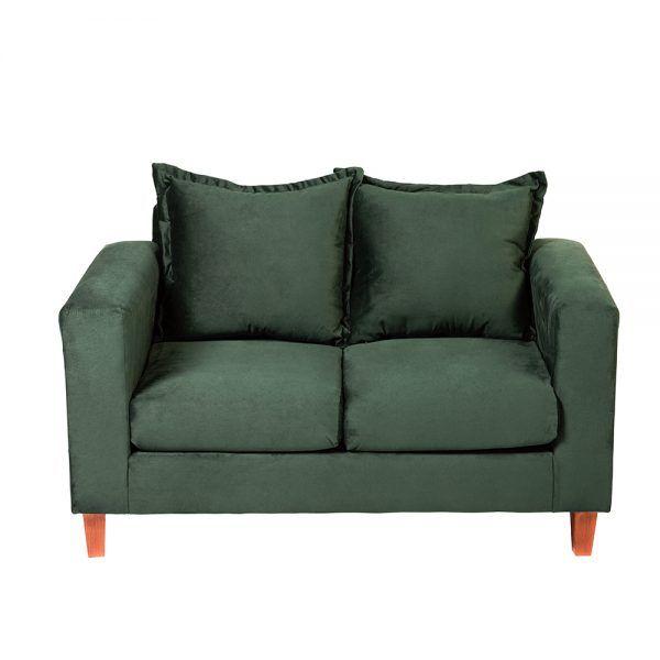 Living Naxos Sofa 2 Cuerpos Sitiales Verde 3