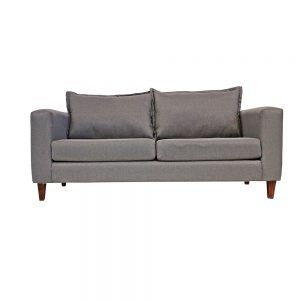 Living Naxos Sofa 3 Cuerpos 2 Sillones Gris 2