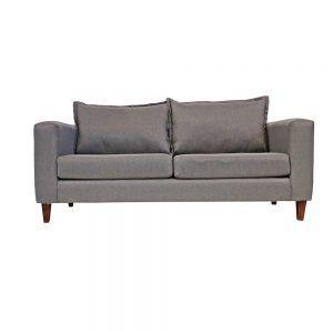 Living Naxos Sofa 3 Cuerpos 2 Sillones Gris 2