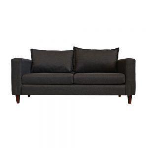 Living Naxos Sofa 3 Cuerpos 2 Sillones Gris Oscuro 2