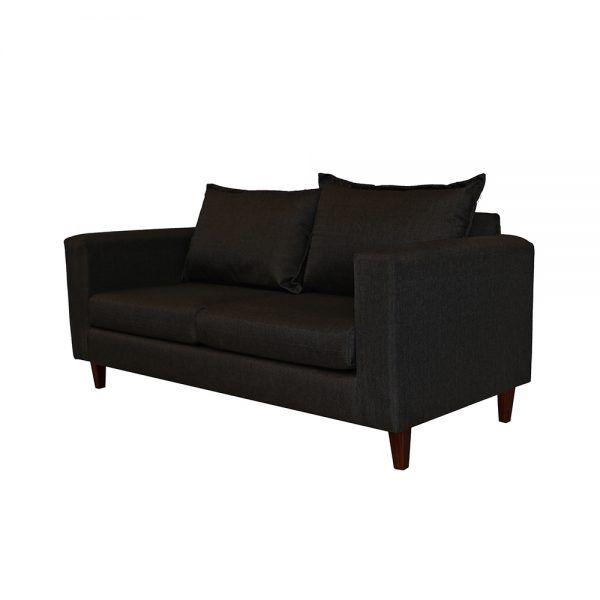 Living Naxos Sofa 3 Cuerpos 2 Sillones Gris Oscuro 4