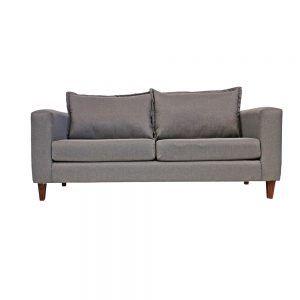 Living Naxos Sofa 3 Cuerpos 2 Sitiales Gris 2
