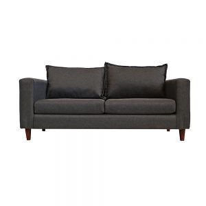 Living Naxos Sofa 3 Cuerpos 2 Sitiales Gris Oscuro 2