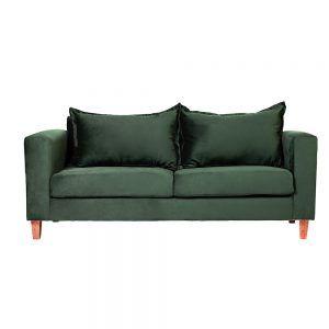 Living Naxos Sofa 3 Cuerpos Sitiales Verde 2