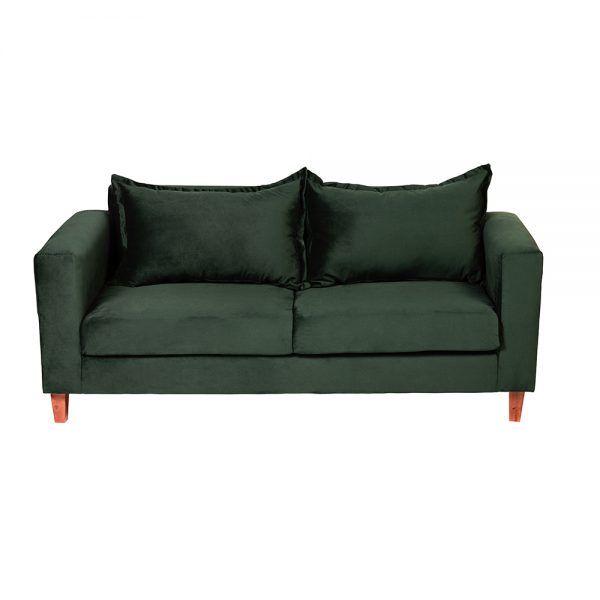 Living Naxos Sofa 3 Cuerpos Sitiales Verde 3