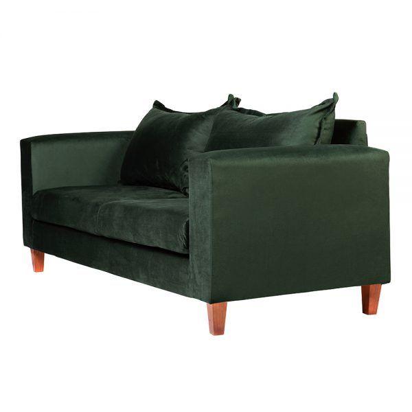 Living Naxos Sofa 3 Cuerpos Sitiales Verde 4