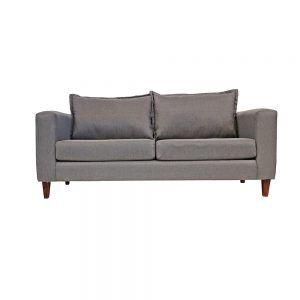 Living Naxos Sofa 3 Cuerpos Sofa 2 Cuerpos Gris 2