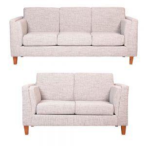 Living Parnaso Sofa 3 Cuerpos Sofa 2 Cuerpos Gris 1