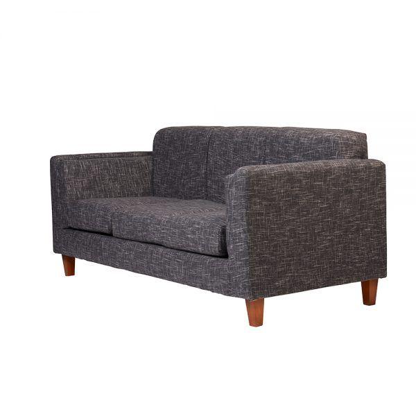 Living Parnaso Sofa 3 Cuerpos Sofa 2 Cuerpos Gris Oscuro 4