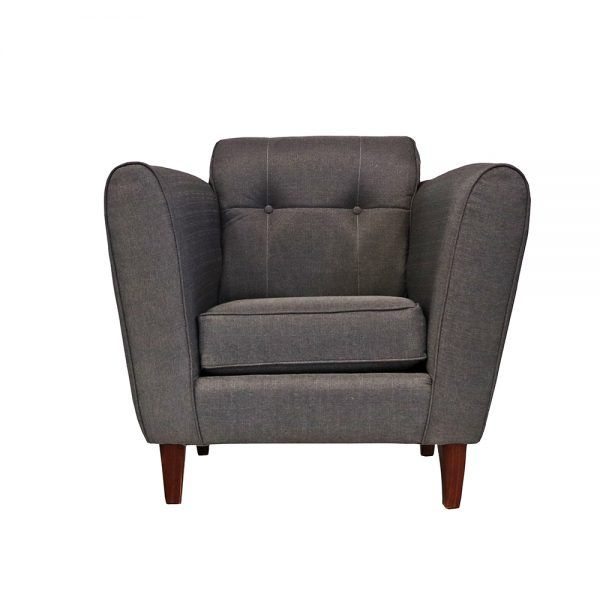 Living Rodas Sofa 2 Cuerpos 2 Sillones Gris 6