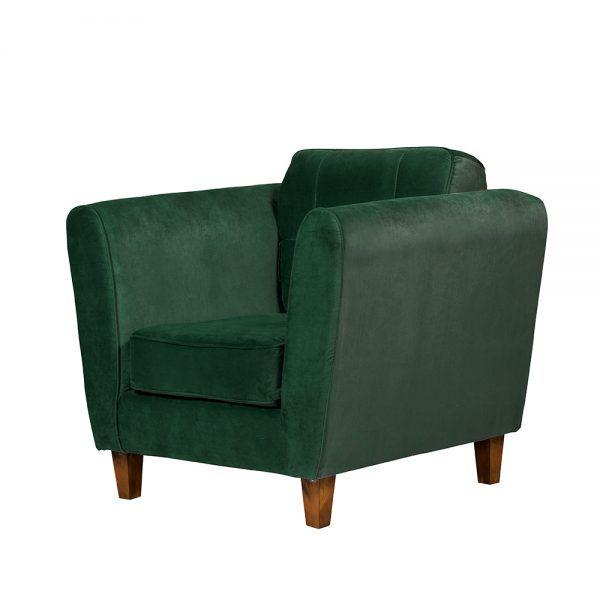 Living Rodas Sofa 2 Cuerpos Sillones Verde 7