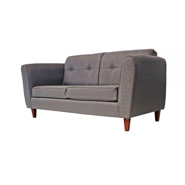 Living Rodas Sofa 3 Cuerpos 2 Sillones Gris 3