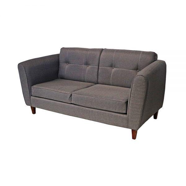 Living Rodas Sofa 3 Cuerpos 2 Sillones Gris 4