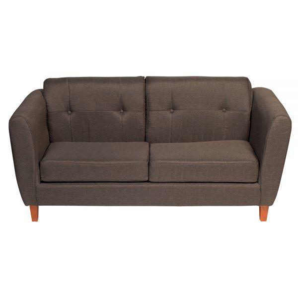 Living Rodas Sofa 3 Cuerpos 2 Sillones Gris Oscuro 3
