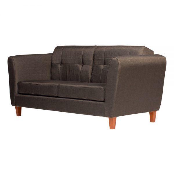 Living Rodas Sofa 3 Cuerpos 2 Sillones Gris Oscuro 4