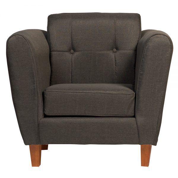 Living Rodas Sofa 3 Cuerpos 2 Sillones Gris Oscuro 5