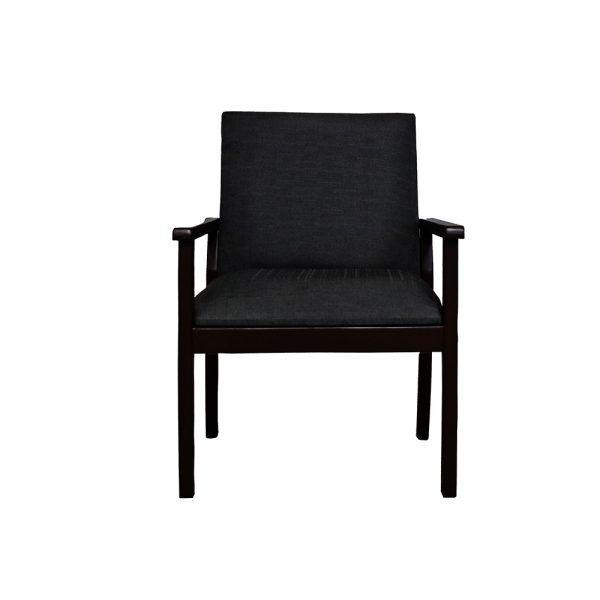 Living Rodas Sofa 3 Cuerpos 2 Sitiales Gris Oscuro 5