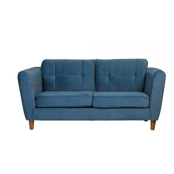 Living Rodas Sofa 3 Cuerpos Sillones Petroleo 2