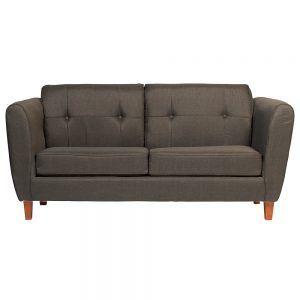 Living Rodas Sofa 3 Cuerpos Sofa 2 Cuerpos Gris Oscuro 2