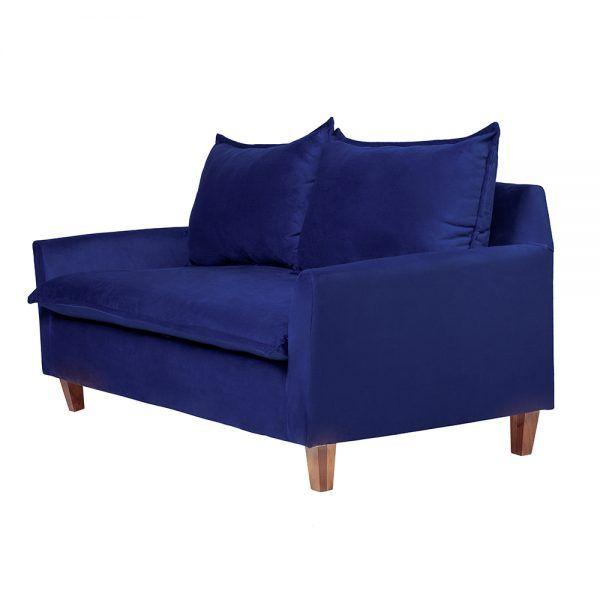 Living Santorini Sofa 3 Cuerpos Sillones Azul 4