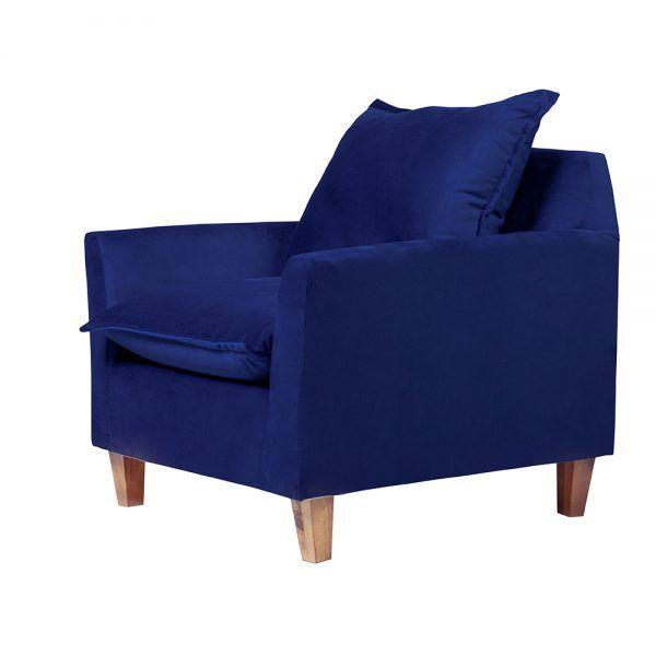 Living Santorini Sofa 3 Cuerpos Sillones Azul 7