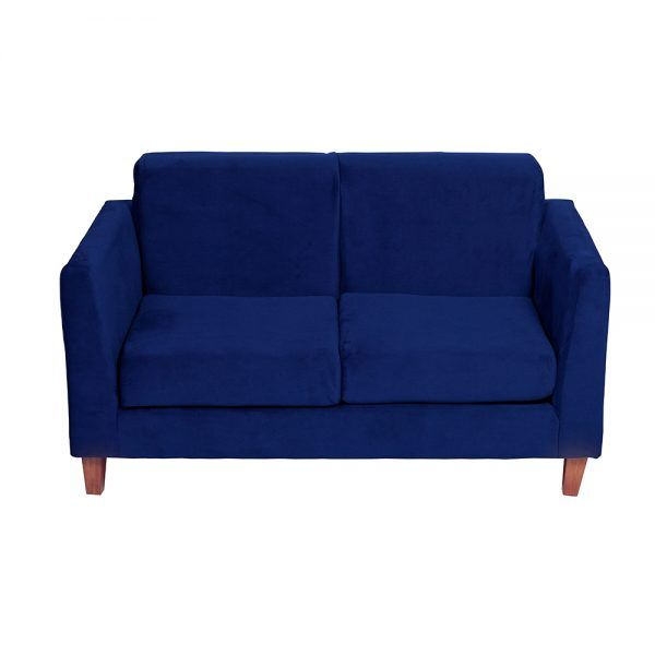 Living Zante 2 Cuerpos Sillones Azul 3