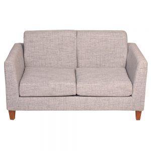 Living Zante Sofa 2 Cuerpos 2 Sitiales Gris 2
