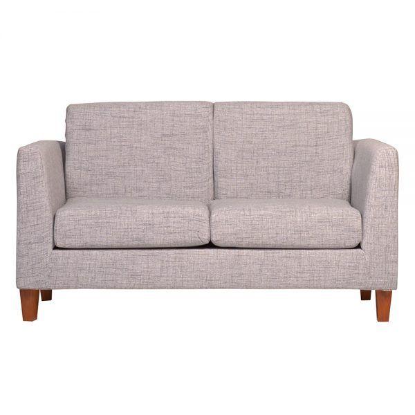 Living Zante Sofa 2 Cuerpos 2 Sitiales Gris 3