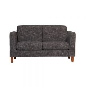 Living Zante Sofa 2 Cuerpos 2 Sitiales Gris Oscuro 2