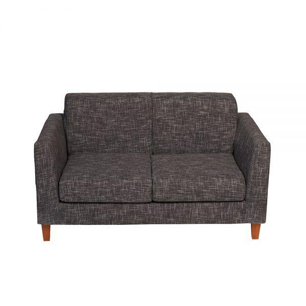 Living Zante Sofa 2 Cuerpos 2 Sitiales Gris Oscuro 3