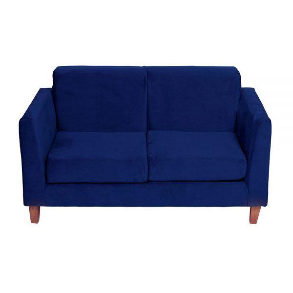Living Zante Sofa 2 Cuerpos Sitiales Azul 3