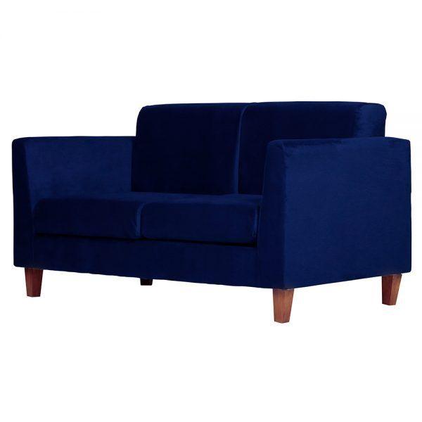 Living Zante Sofa 2 Cuerpos Sitiales Azul 4
