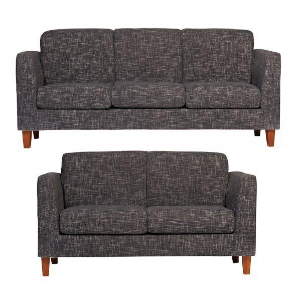 Living Zante Sofa 3 Cuerpos Sofa 2 Cuerpos Gris Oscuro 1