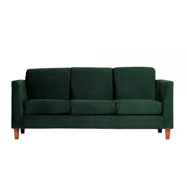Living Zante Sofa 3 Cuerpos Sofa 2 Cuerpos Verde 2