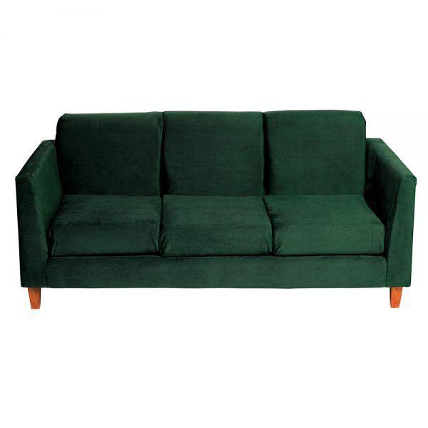 Living Zante Sofa 3 Cuerpos Sofa 2 Cuerpos Verde 3