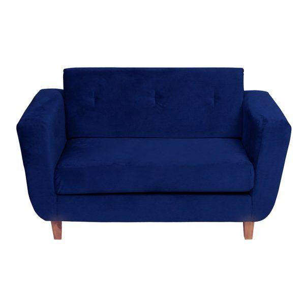 Sofa Agora 2 Cuerpos Azul 2