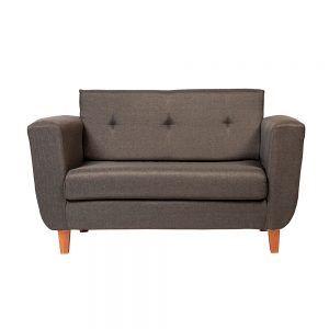 Sofa Agora 2 Cuerpos Gris Oscuro 1