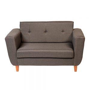 Sofa Agora 2 Cuerpos Gris Oscuro 2