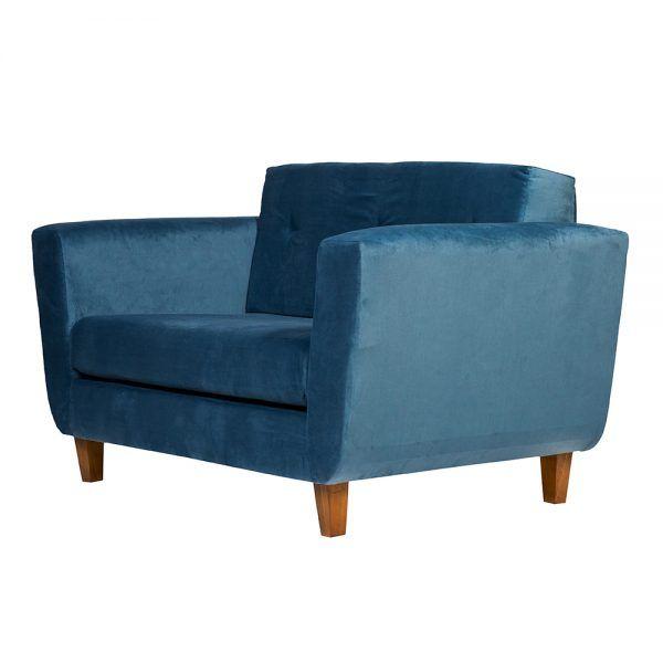Sofa Agora 2 Cuerpos Petroleo 3