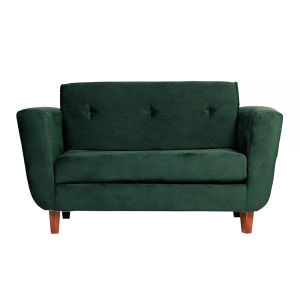 Sofa Agora 2 Cuerpos Verde 1