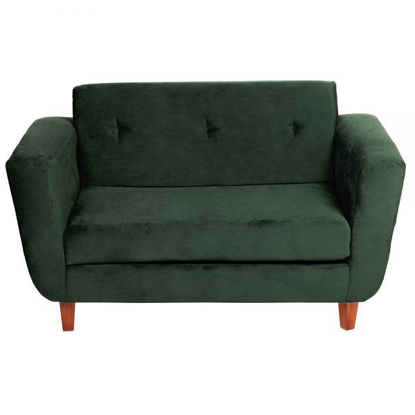 Sofa Agora 2 Cuerpos Verde 2