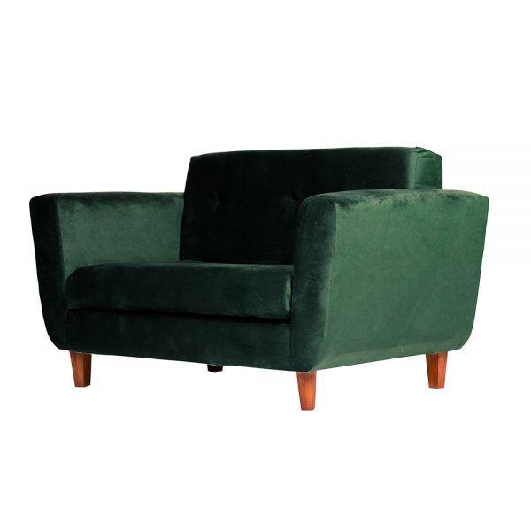 Sofa Agora 2 Cuerpos Verde 3