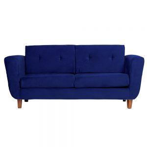 Sofa Agora 3 Cuerpos Azul 1