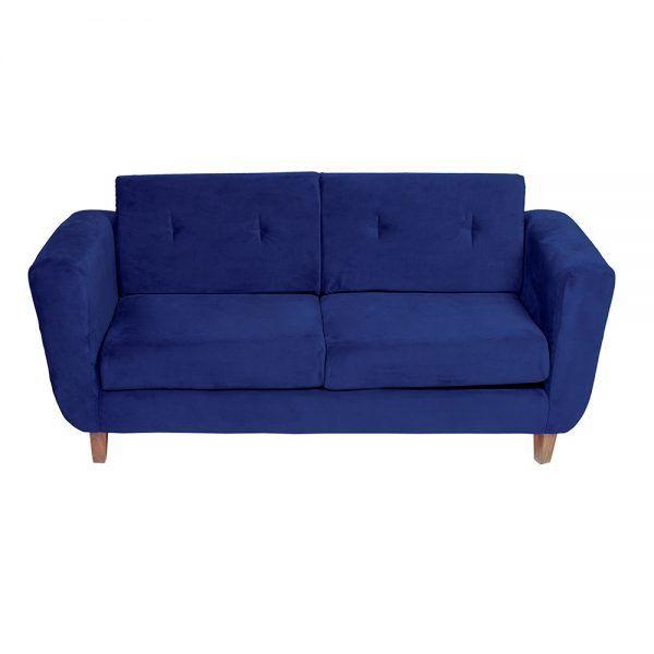 Sofa Agora 3 Cuerpos Azul 3