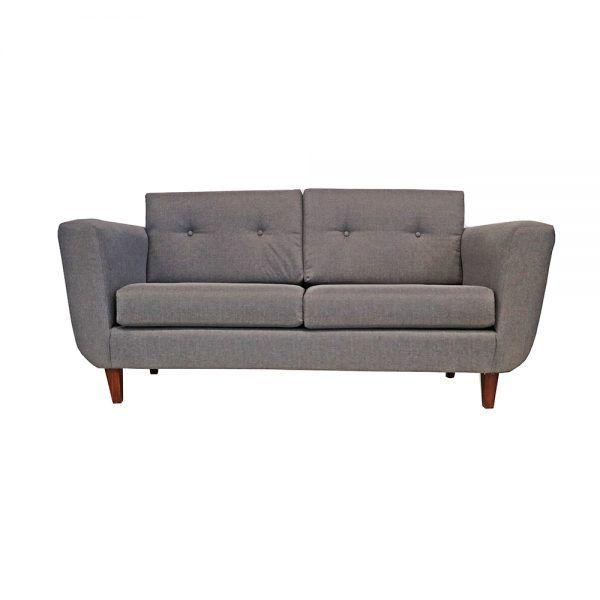 Sofa Agora 3 Cuerpos Gris 1