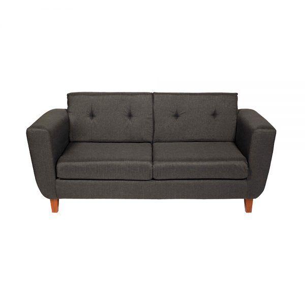 Sofa Agora 3 Cuerpos Gris Oscuro 2