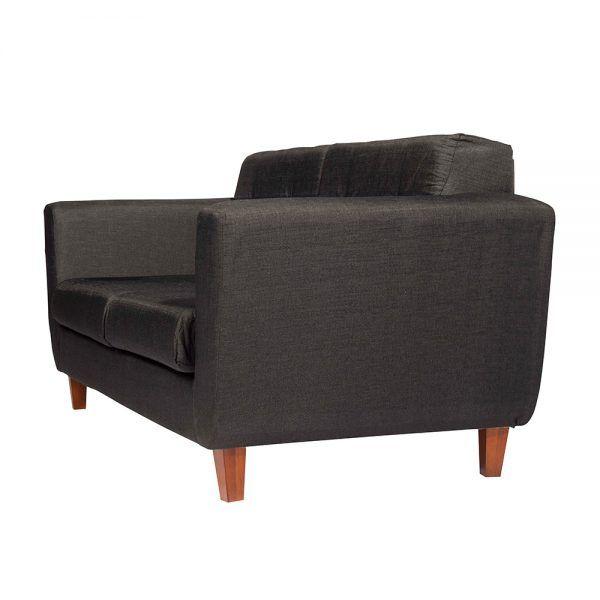 Sofa Agora 3 Cuerpos Gris Oscuro 3